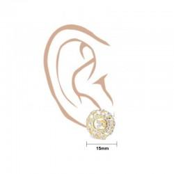 C/Z Cluster Stud Earrings - 3