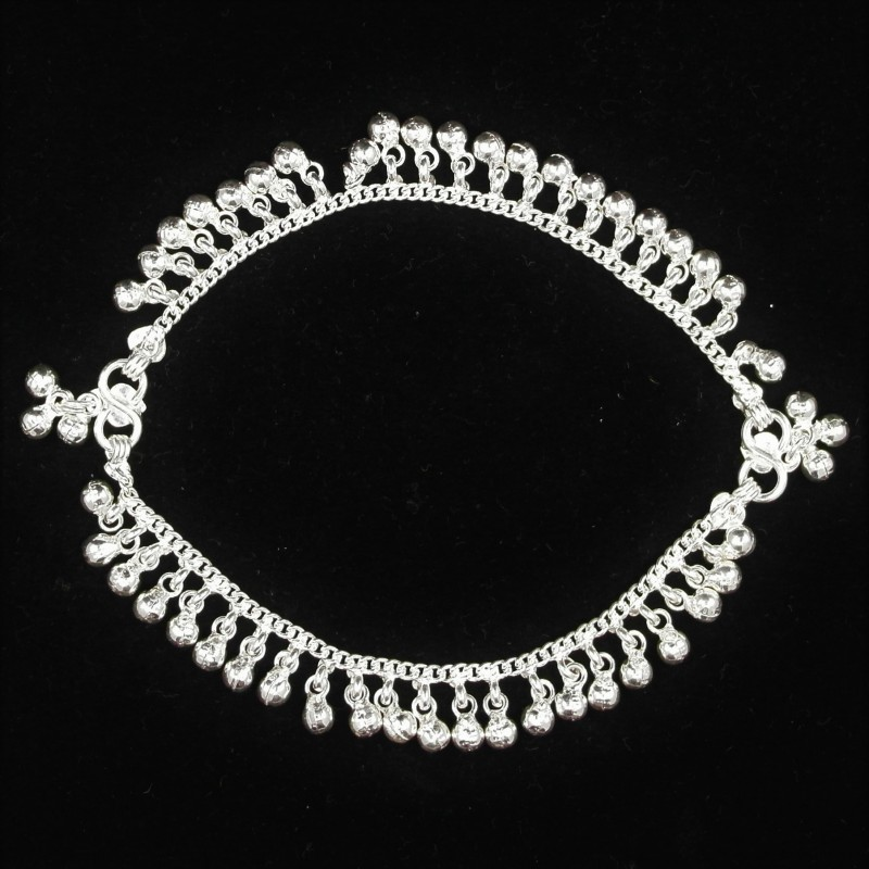 Baby Anklets with Noise Making Charms - 1