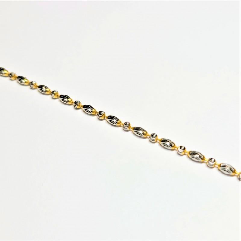 2-tone Bead Bracelet - 1