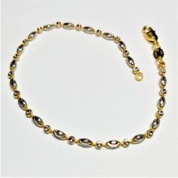 2-tone Bead Bracelet - 2