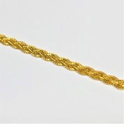 Flat pleated Bracelet