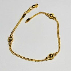 Chain and bead bracelet - 2