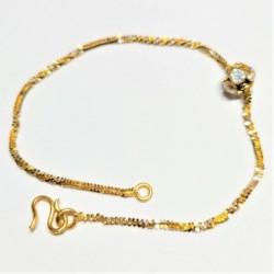 Moving C/Z ball bracelet - 2