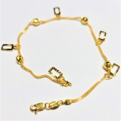 Moving Charm Bracelet - 2