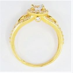 22ct Bridal Ring Set - DMS-R74 - 4