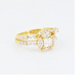 Unique bridal ring set! - 1