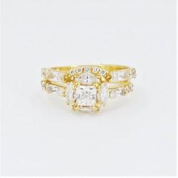 Unique bridal ring set!