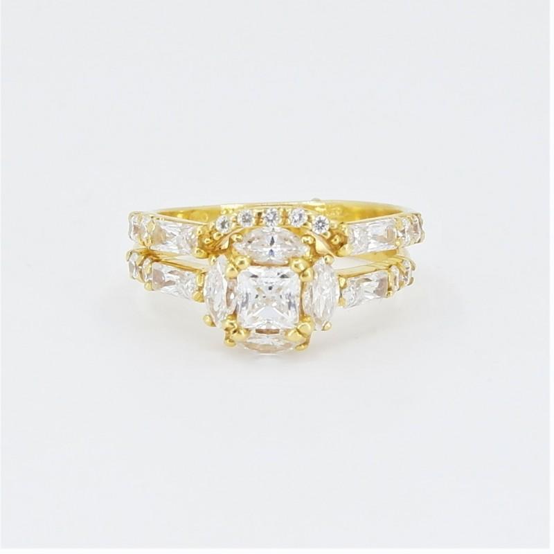Unique bridal ring set! - 2