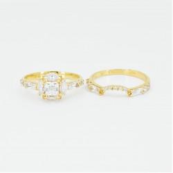 Unique bridal ring set! - 3