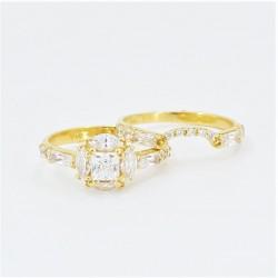 Unique bridal ring set! - 4