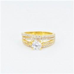 22ct Bridal Ring Set - DMS-R54