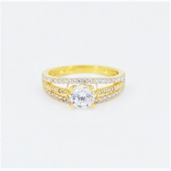 22ct Bridal Ring Set - DMS-R54 - 4