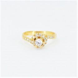22ct Bridal Ring Set - DMS-R58 - 4