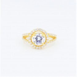 22ct Bridal Ring Set - DMS-R109 - 4
