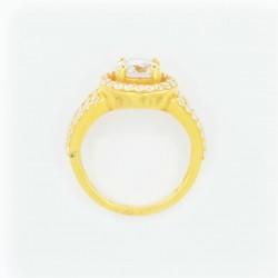 22ct Bridal Ring Set - DMS-R109 - 5