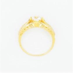 22ct Bridal Ring Set - DMS-R55 - 5