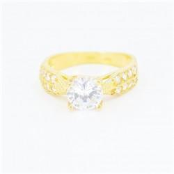 22ct Bridal Ring Set - DMS-R73 - 5