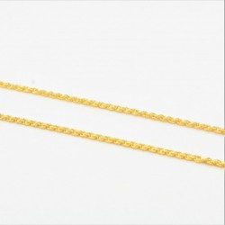 Hollow Rope Chain - DMS-2-C25 - 4