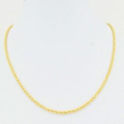 Diamond Cut Hollow Rope Chain - DMS-4-C45 - 2