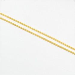 Diamond Cut Hollow Rope Chain - DMS-4-C45 - 3