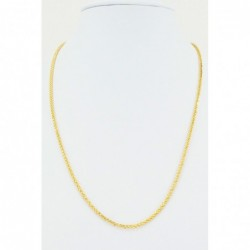 Hollow Square Diamond Cut Spiga Chain - DMS-5-C50 - 1