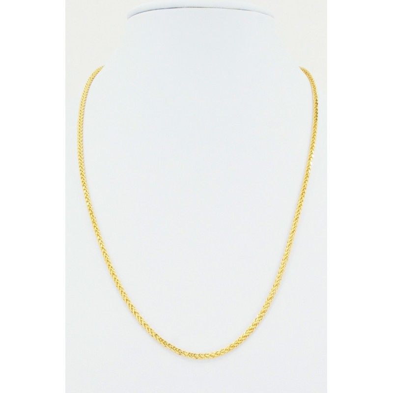 Hollow Square Diamond Cut Spiga Chain - DMS-5-C50 - 1
