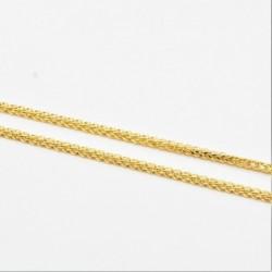 Hollow Square Diamond Cut Spiga Chain - DMS-5-C50 - 4
