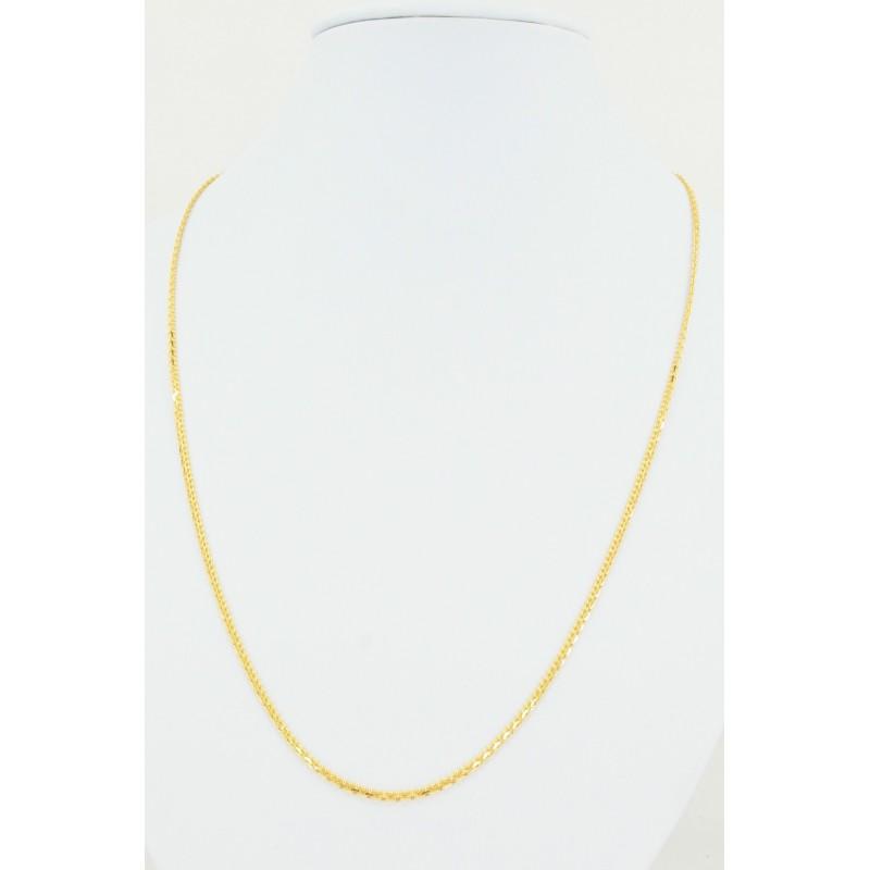 Flat Diamond Cut Chain - DMS-7-C61 - 1