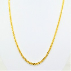 Hollow Thick Diamond Cut Square Spiga Chain - DMS-10-C93 - 2