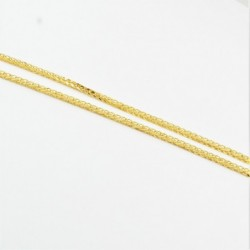Hollow Thick Diamond Cut Square Spiga Chain - DMS-10-C93 - 3