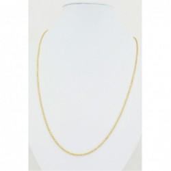 Two-Tone Solid Rope Chain - DMS-13-C100 - 1