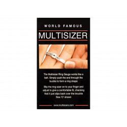 UK Ring Sizer + Free £5 - 1