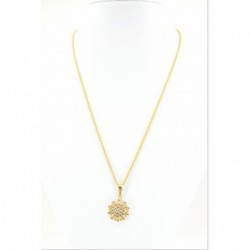 C/Z Cluster Pendant on a Ripple Chain - DMS-11-CP45 - 2