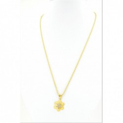 Soft Star Pendant on a Rope Chain - DMS-16-CP48 - 2