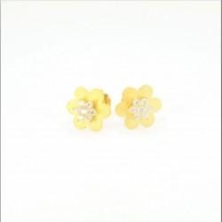 Soft Star Stud Earrings - DMS-16-E38 - 1