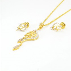 Fancy C/Z Pendant Set - 2