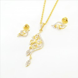 Fancy C/Z Pendant Set - 1