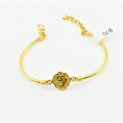 Half Bangle Bracelet with...