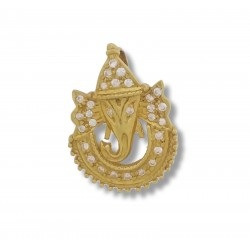 C/Z Ganesh Pendant