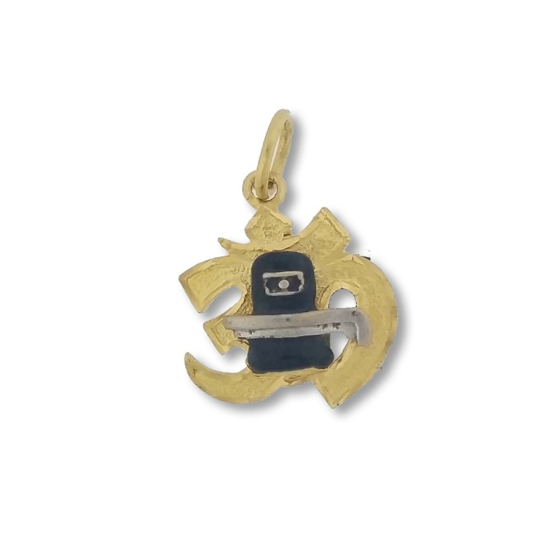 Aum and Shivling Pendant