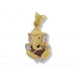 Ganesh and Rudraksh Pendant - 1