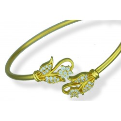 Ladies 22ct Gold Bangle Bracelet - 1