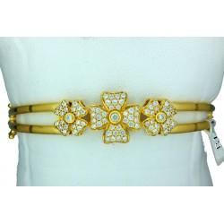 Ladies 22ct Gold Bangle Bracelet - 3