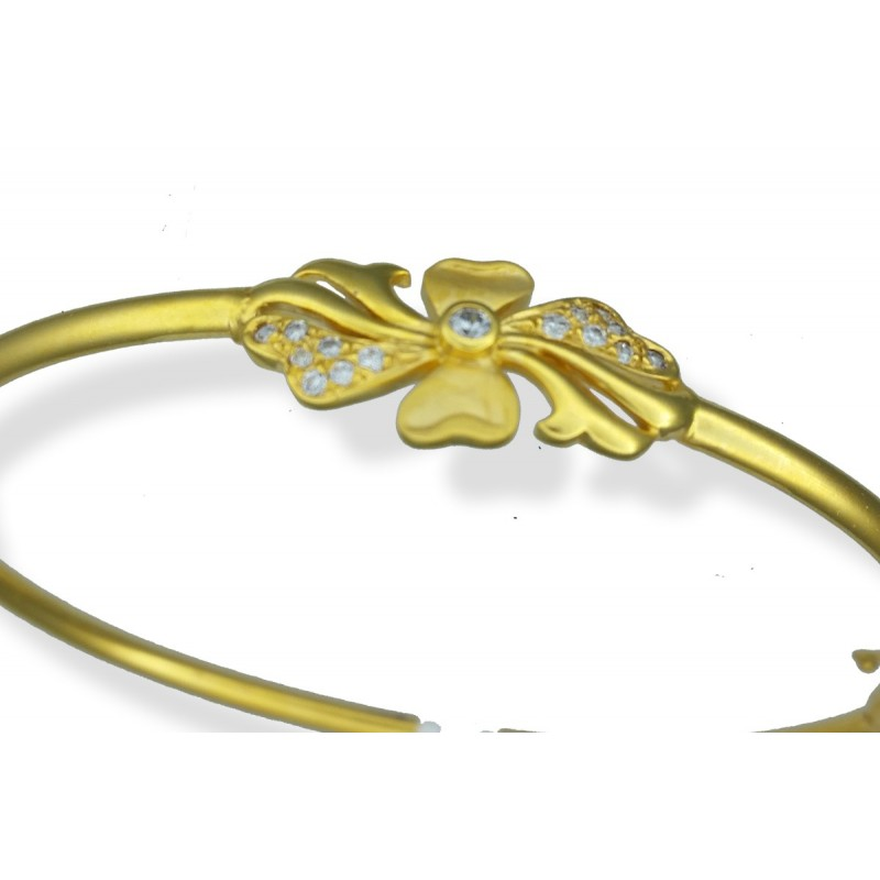 Ladies 22ct Gold Bangle Bracelet