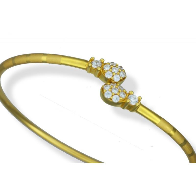 Ladies 22ct Gold Bangle Bracelet