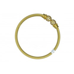 Ladies 22ct Gold Bangle Bracelet - 2
