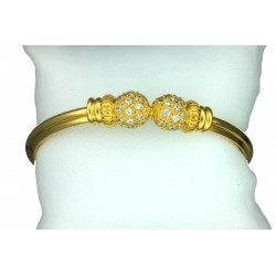 Ladies 22ct Gold Bangle Bracelet - 3