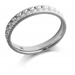 Slim Diamond cut band - 1