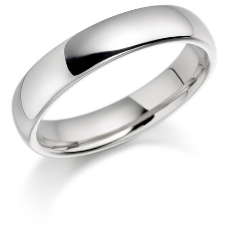 Ladies Platinum wedding band