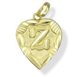 Gold Initial Pendants
